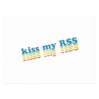 Kiss My RSS Postcard