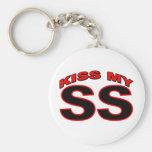 Kiss My SS Key Chain