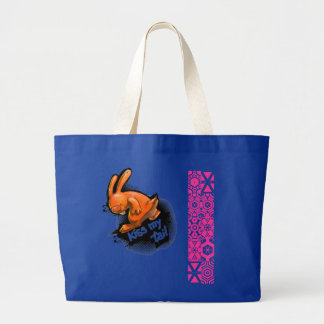 Kiss my tail tote bag