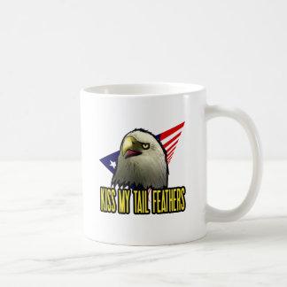Kiss My Tail Feathers Coffee Mug