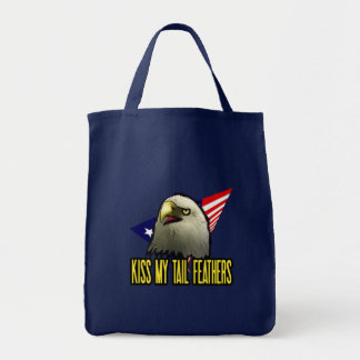 Kiss My Tail Feathers Tote Bag
