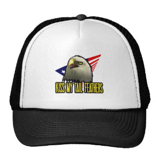 Kiss My Tail Feathers Trucker Hat