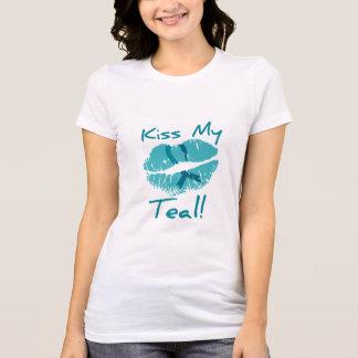 Kiss My Teal - PCOS Awareness T-Shirt