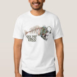 Kiss My Ugly Bass by Mudge Studios T-Shirt