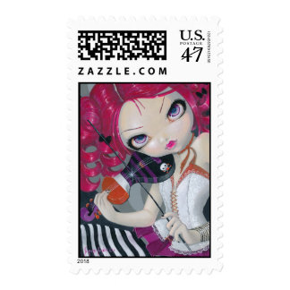 Kiss My Violin Stamp
