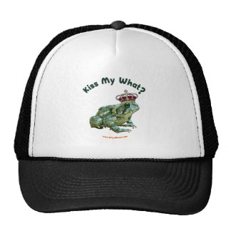 Kiss My What Frog Toad Prince Hats