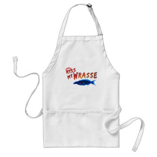 Kiss My Wrasse Fish #2 Adult Apron