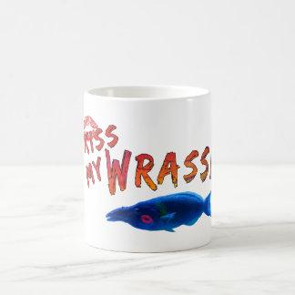 Kiss My Wrasse Fish #2 Coffee Mug