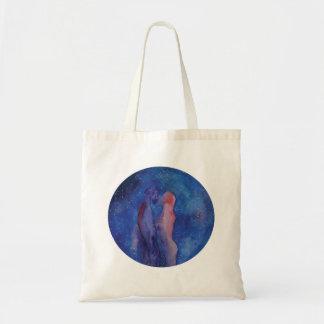 Kiss Nebula Art Budget Tote