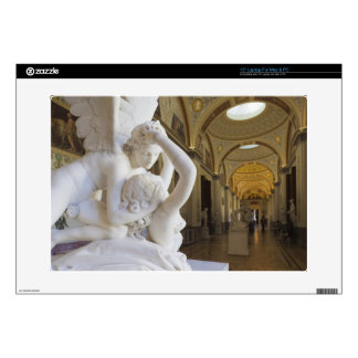 """Kiss of Cupid and Psyche, by Antonio Canova 15"""" Laptop Skin"""