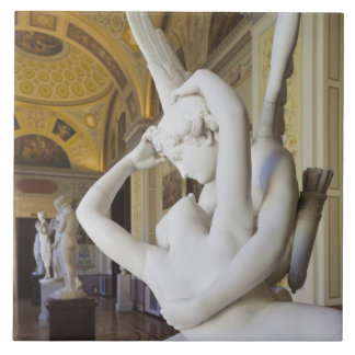Kiss of Cupid and Psyche, by Antonio Canova 2 Ceramic Tile