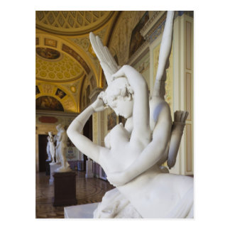Kiss of Cupid and Psyche, by Antonio Canova 2 Postcard