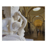 Kiss of Cupid and Psyche, by Antonio Canova Poster