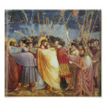 Kiss of Judas by Giotto Posters