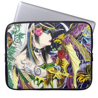 Kiss Of The Dragon Neoprene Laptop Sleeve