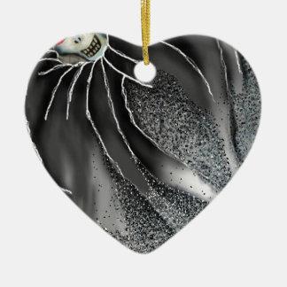 Kiss of the Eternal Sleep Ceramic Ornament