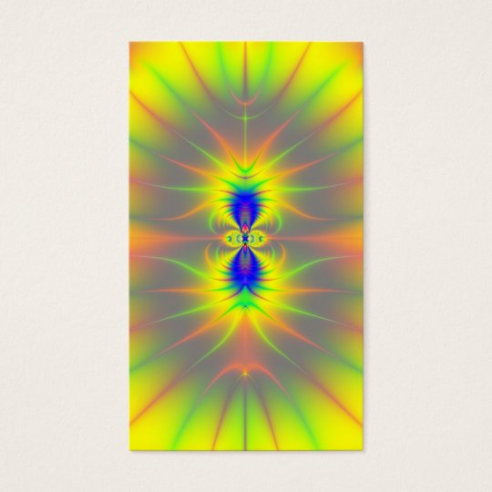 Kiss of the Sunfish Fractal Business Card