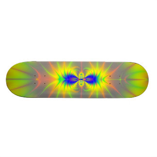 Kiss of the Sunfish Fractal Skateboard