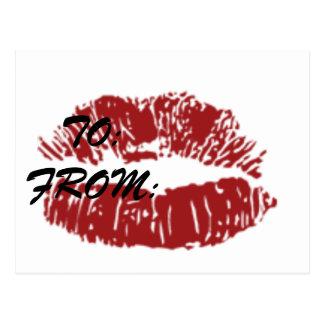 Kiss on a Card
