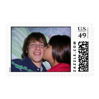 Kiss on the Cheek Postage