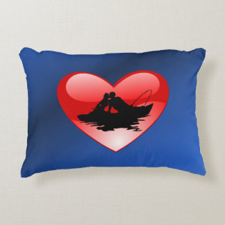 Kiss on the Water Decorative Pillow