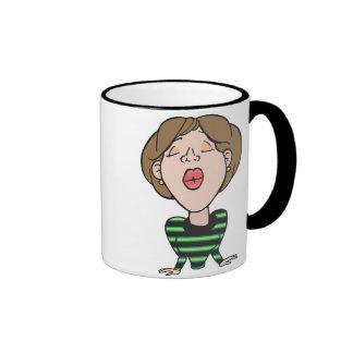 Kiss Pucker Up Mug