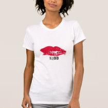 Kiss- Red Lips Women's T Shirt