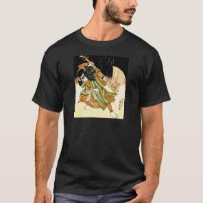 kiss samurai rock T-Shirt