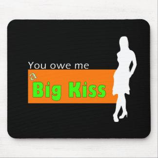 Kiss shop mouse pad