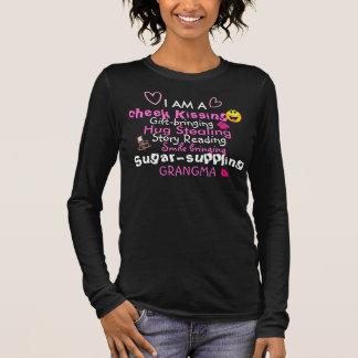 kiss Steeling Grandma Long Sleeve T-Shirt