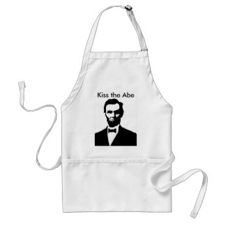 Kiss the Abe Adult Apron