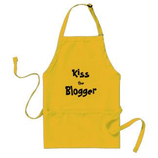 Kiss the Blogger Apron