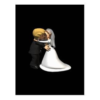 Kiss The Bride 2 Postcard
