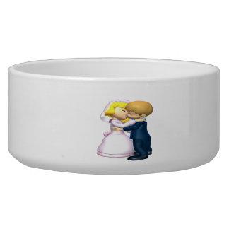 Kiss The Bride Pet Bowl