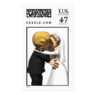 Kiss the Bride STamps and Wedding Postage