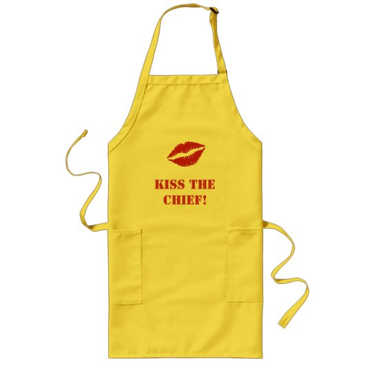 Kiss The Chief! - Apron