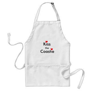Kiss The Coastie Adult Apron