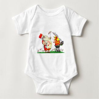 KiSs ThE CoOk Baby Bodysuit