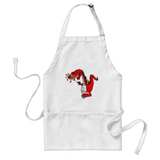 Kiss the Cook Barbecue Dragon Standard Apron
