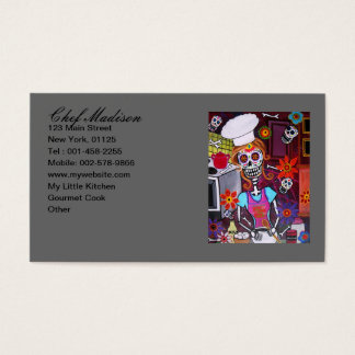 Kiss the Cook Business Card