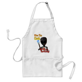Kiss The Cook Grill The Earthling Apron