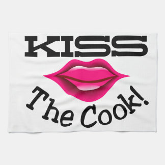 Kiss The Cook Hand Towel