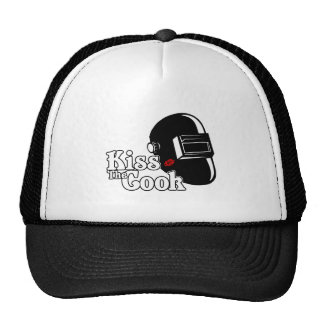 Kiss the Cook Trucker Hat
