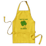 KISS THE COOK, I'M IRISH! APRON