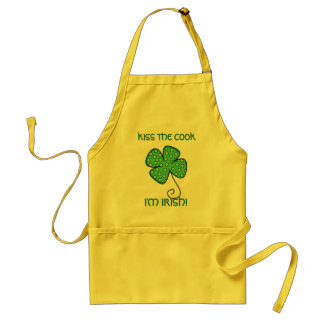 KISS THE COOK, I'M IRISH! APRON