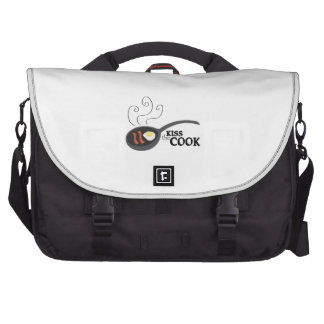 Kiss The Cook Laptop Bags
