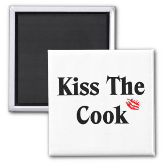 Kiss the cook magnet