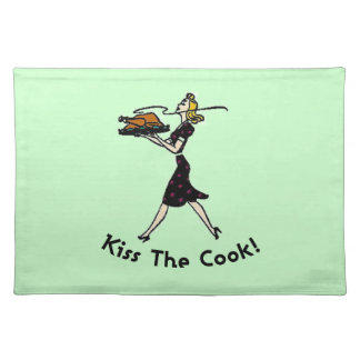 Kiss the Cook! MoJo Placemat Cloth Place Mat