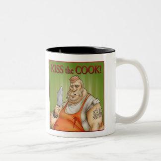 kiss the Cook Mug