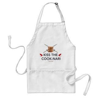 Kiss the Cook-Nari Adult Apron